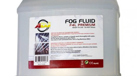 ADJ F4L Premium 4L Container Of Water-Based Premium Fog Fluid