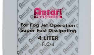 Antari FLC-4 4L Container Of Water-Based Super Fast Dissipating Fog Fluid