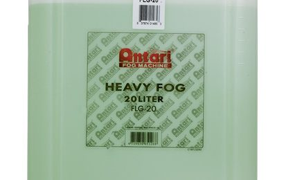 Antari FLG-20 20L Container Of Water-Based Heavy Fog Fluid
