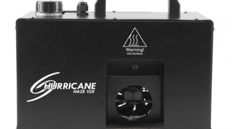 Chauvet DJ Hurricane Haze 1DX Compact Water-Based Haze Machine With 800 Cfm Output And DMX