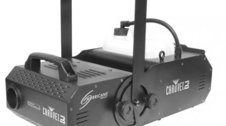 Chauvet DJ Hurricane 1800 Flex Water Based Fog Machine With Adjustable Angle, 29,600 Cfm Output And DMX