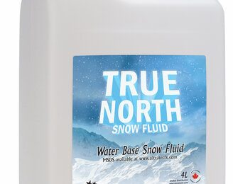 Ultratec True North Snow Fluid 4L Container Of Snow Fluid For True North And Silent Storm