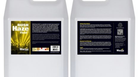 Martin Pro RUSH & THIRLL Haze Fluid 25L Container Of Water-Based Haze Fluid For Martin Haze Machines